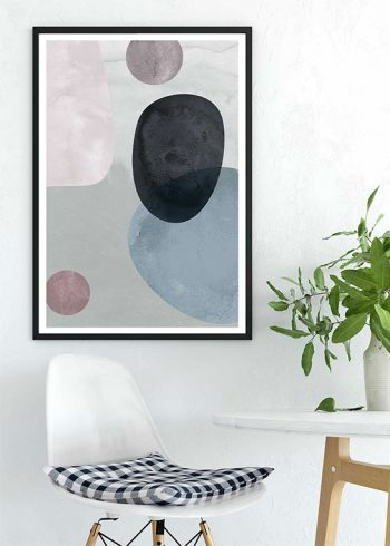 ROUND WATER COLORS NO.1 POSTER
