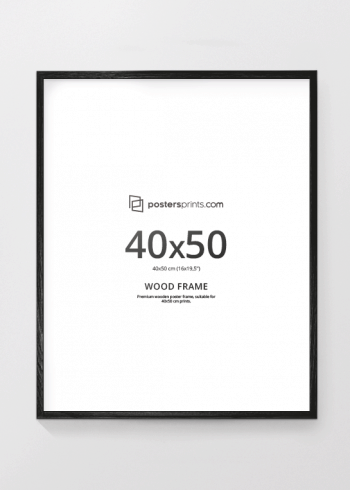 BLACK PICTURE FRAME 40x50