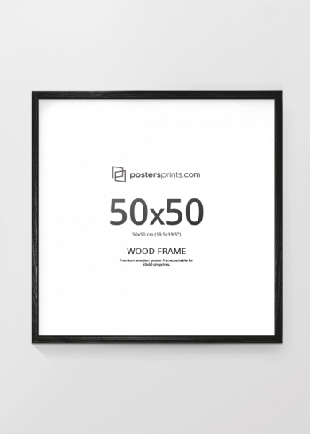 BLACK PICTURE FRAME 50x50