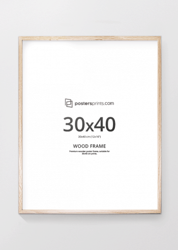 PICTURE FRAME OAK 30x40