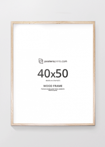 PICTURE FRAME OAK 40x50