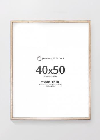 PICTURE FRAME OAK 40x50