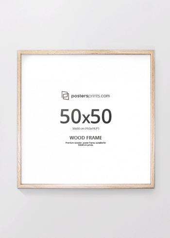 PICTURE FRAME OAK 50x50