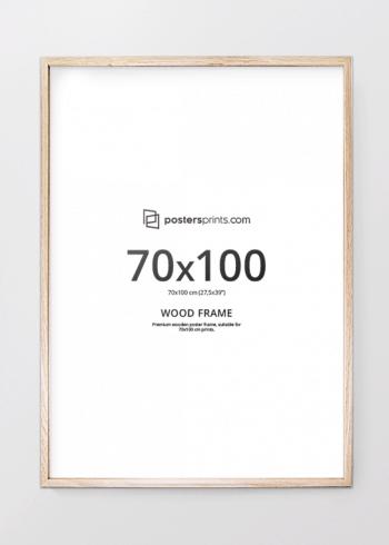 PICTURE FRAME OAK 70x100