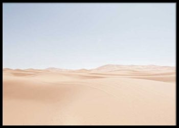 DESERT DUNES NO. 2 POSTER