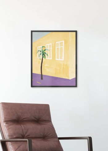 ABSTRACT FACADE PAINTING POSTER