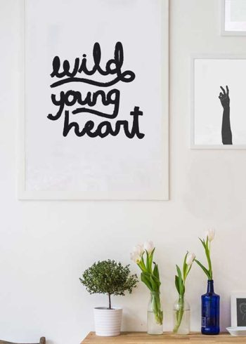 WILD YOUNG HEART POSTER